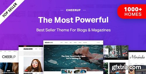 ThemeForest - CheerUp v6.1.5 - Blog/Magazine & Travel WordPress - 16430770 - NULLED