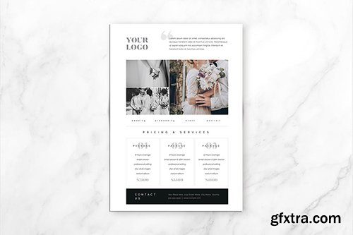 Photography Pricing Guide Template 2