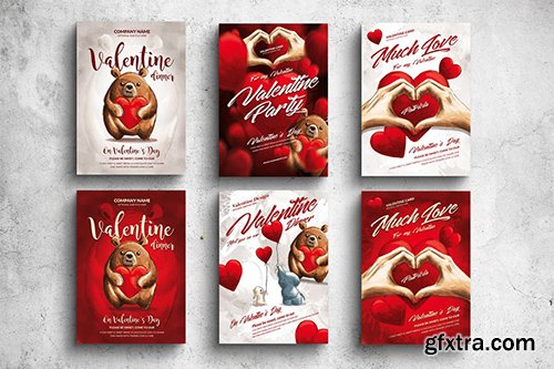 Valentine Posters & Cards Bundle