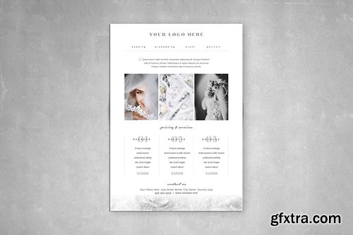 Photography Pricing Guide Template 3
