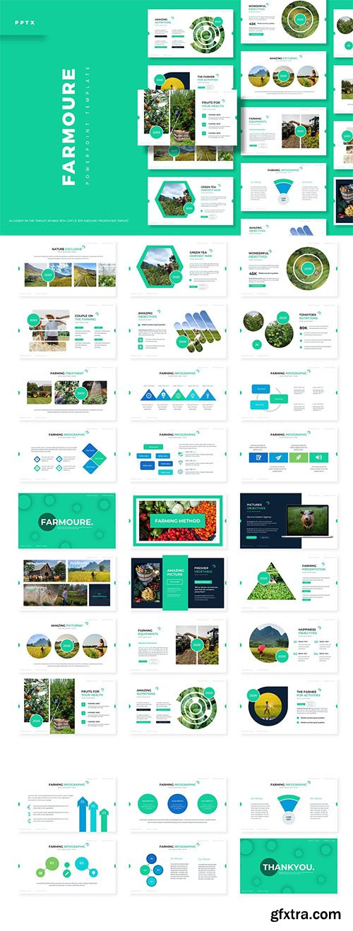 Farmoure - Powerpoint, Keynote and Google Slides Template