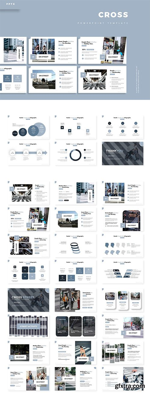 Cross - Powerpoint, Keynote and Google Slides Template