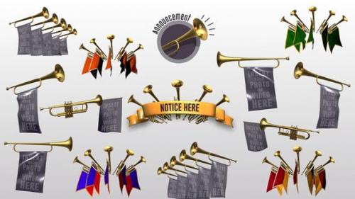 Videohive - Trumpet Announcement