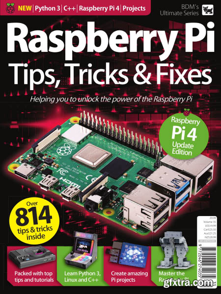Raspberry Pi Tips, Tricks & Fixed - Volume 35 2019