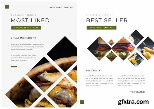 Foodiest Brochure Template