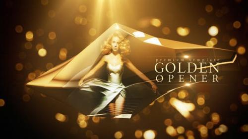 Videohive - Golden Opener