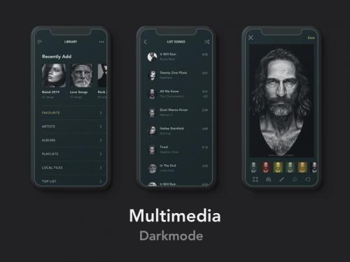 Multimedia Darkmode 2 - animation - multimedia-darkmode-2-animation
