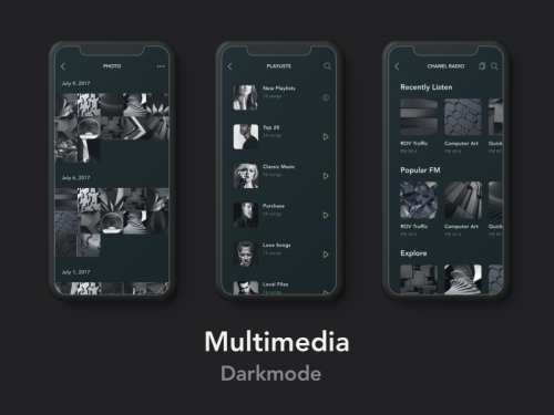 Multimedia Darkmode 3 - animation - multimedia-darkmode-3-animation
