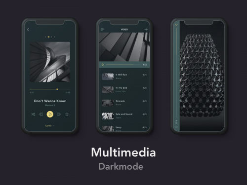 Multimedia Darkmode 4 - animation - multimedia-darkmode-4-animation