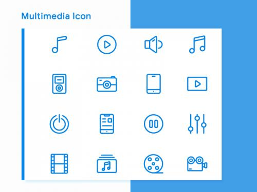 Multimedia Icon Sets - multimedia-icon-sets