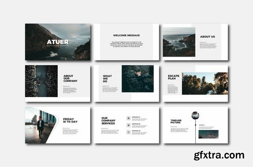 Atuer - Powerpoint Google Slides and Keynote Templates