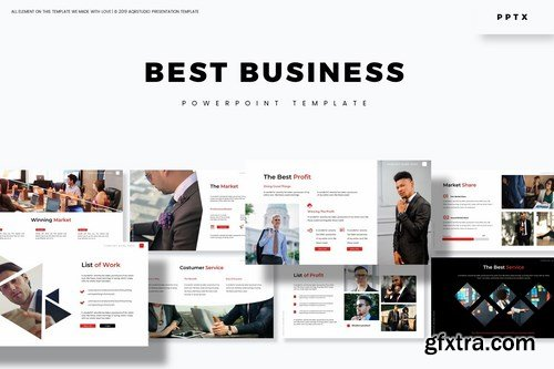 Best Business - Powerpoint Google Slides and Keynote Templates