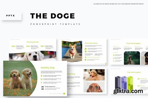 The Doge - Powerpoint Google Slides and Keynote Templates