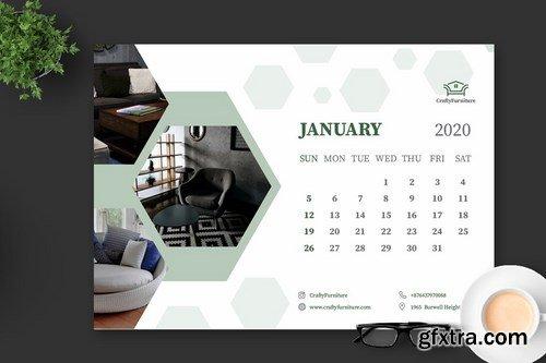 2020 Furniture Interior Design Calender Pro
