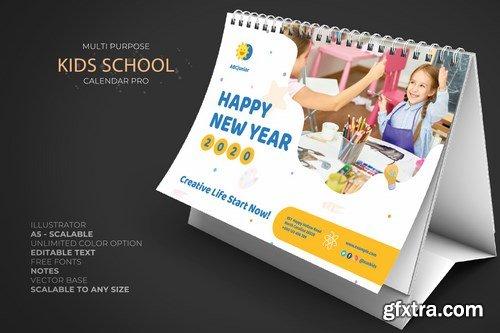 2020 Kid School Calendar Pro