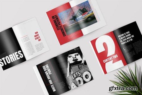 StreetArt - Pop Art Lookbook Magazine