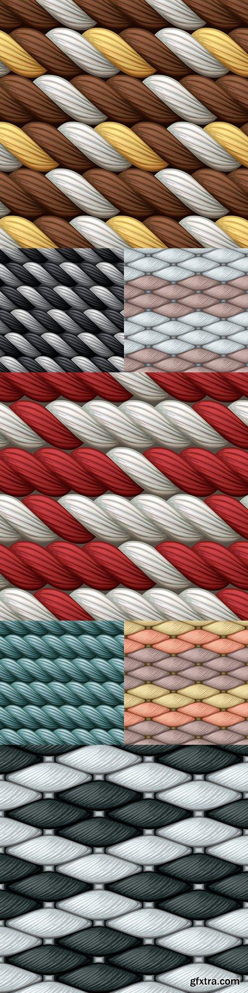 Bound wool pattern decorative design vintage