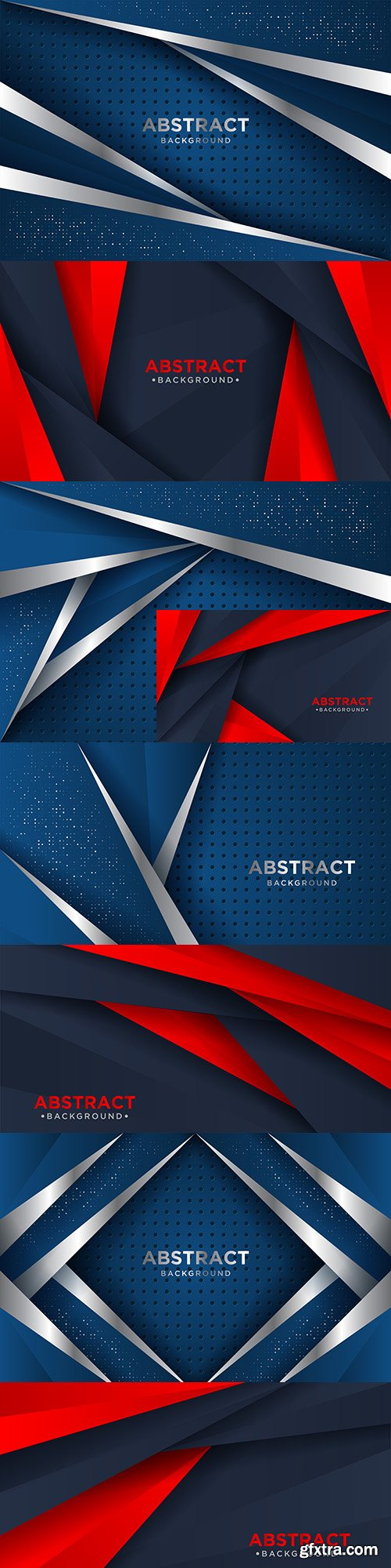 Abstract darkly blue background and design decorative element