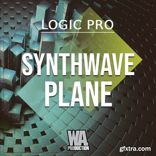 WA Production Synthwave Plane v2 TEMPLATE FOR LOGiC PRO X WAV MiDi XFER SERUM PRESETS