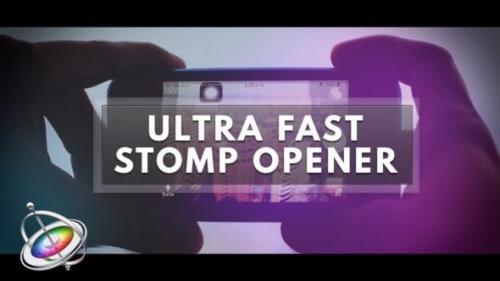 Videohive - Ultra Fast Stomp Opener