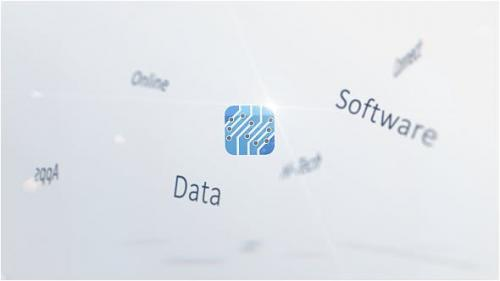 Videohive - Corporate Keywords Logo