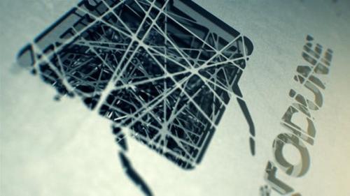 Videohive - Spiderweb Logo Reveal