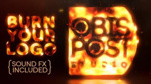 Videohive - Burn Your Logo