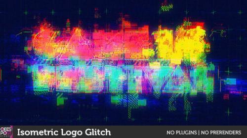 Videohive - Isometric Logo Glitch