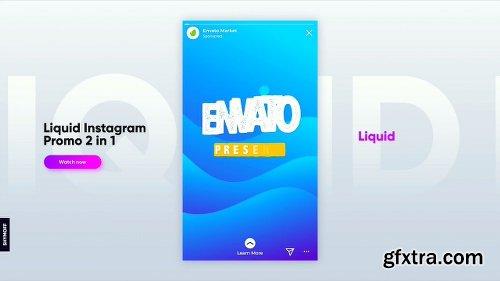 Videohive Liquid Instagram Promo 2 in 1 23012483
