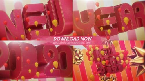 Videohive - Happy New Year l New Year 2020 l New Year Celebration Template - 25326604