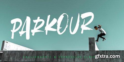 Parkour Font Family