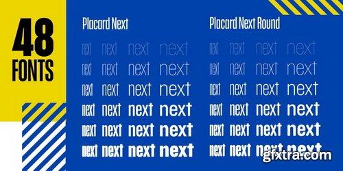 Placard Next Font Family