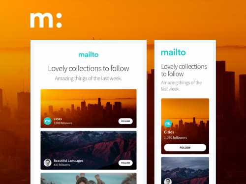 Mailto Follow New Collections - new-collections-to-follow-email-template-marketing