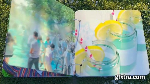 Videohive Summer Photo Album 24115694