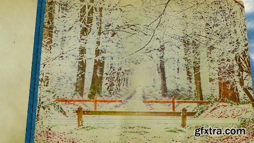 Videohive Seasons Change Photo Album 21109571