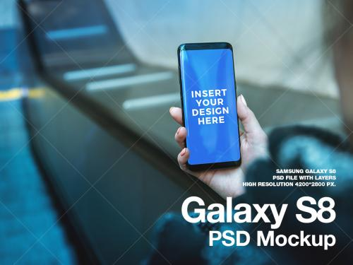 New Galaxy S8 PSD Mockup Hi-Res PSD file - new-galaxy-s8-psd-mockup-hi-res-psd-file