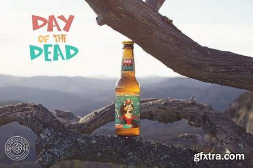 Tree Nature Beer Mockup