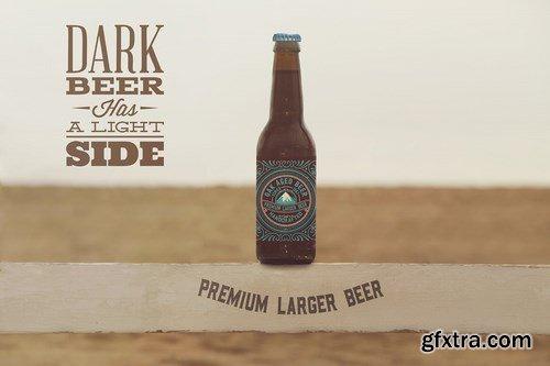 Multiple Beach Beer Mockup
