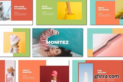 Monitez - Powerpoint Google Slides and Keynote Templates