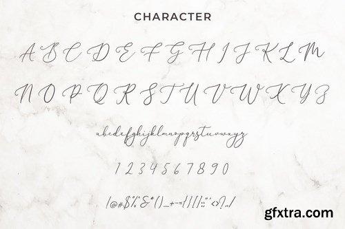 CM - Brianna Qasim Calligraphy Font 4440617
