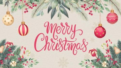 Videohive - Christmas Card Opener