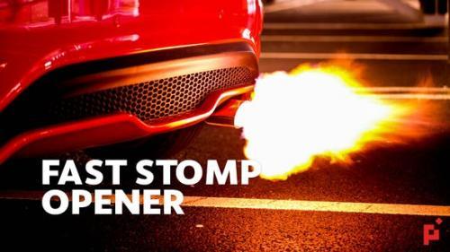 Videohive - Fast Stomp // Typo Opener