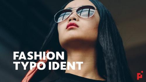 Videohive - Fashion Ident // Typo Opener - 23439720