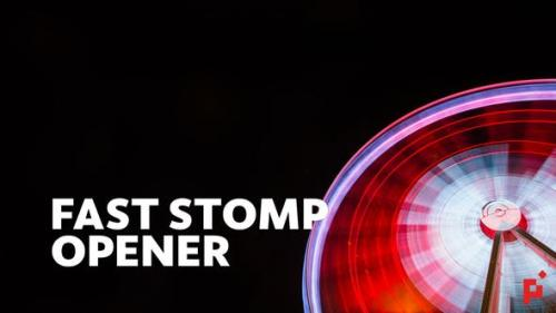 Videohive - Fast Stomp // Typo Opener | Essential Graphics | Mogrt