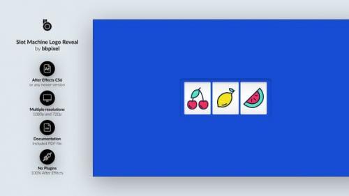 Videohive - Slot Machine Logo Reveal