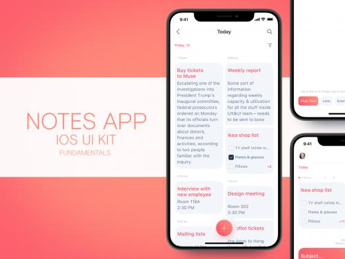 Notes app iOS UI kit - notes-app-ios-ui-kit-cdda3893-ec53-4c38-98dd-603e9b137973