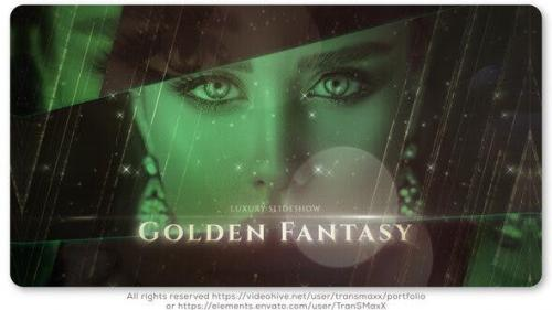 Videohive - Golden Fantasy Luxury Slideshow