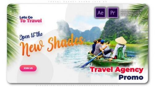 Videohive - Travel Agency Promo Lets Go