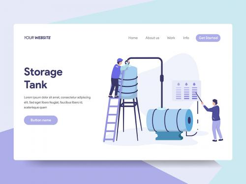 Oil Storage Tank Illustration - oil-storage-tank-illustration