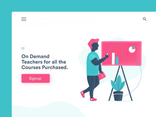 On Demand Teacher Page Illustration - on-demand-teacher-page-illustration